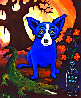 Absolute Vodka 1991 Limited Edition Print by Blue Dog George Rodrigue - 0