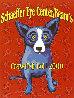 Schaffer Eye Center Beam's Crawfish Boil Poster , Birmingham, AL 2000 HS Limited Edition Print by Blue Dog George Rodrigue - 0