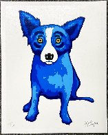 Purity of the Soul Limited Edition Print by Blue Dog George Rodrigue - 1