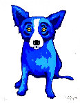 Purity of the Soul Limited Edition Print - Blue Dog George Rodrigue