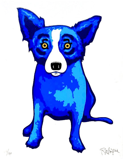 Purity of the Soul Limited Edition Print by Blue Dog George Rodrigue