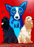George's Sweet Inspiration Limited Edition Print by Blue Dog George Rodrigue - 1