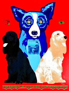 George's Sweet Inspiration Limited Edition Print - Blue Dog George Rodrigue
