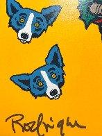 High on Sugar Limited Edition Print by Blue Dog George Rodrigue - 2