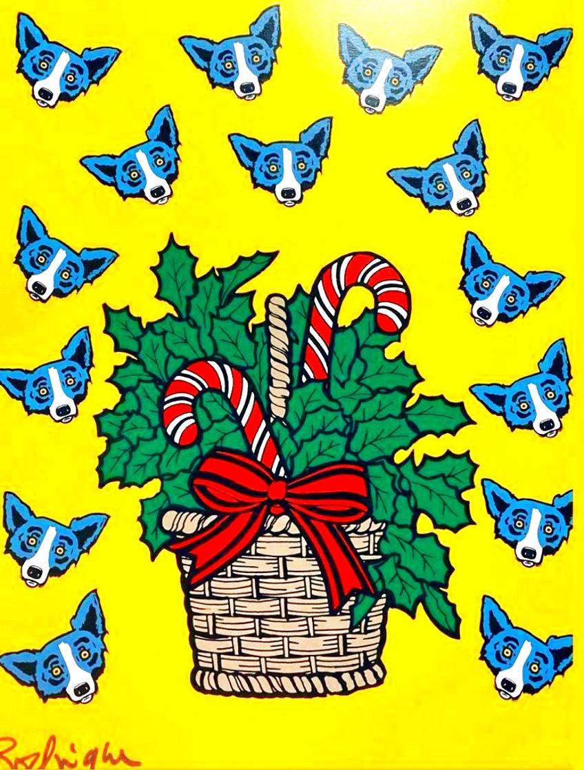 High on Sugar Limited Edition Print by Blue Dog George Rodrigue