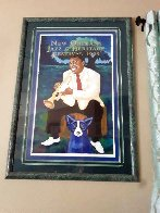 Louis Armstrong Poster 1995 Limited Edition Print by Blue Dog George Rodrigue - 1