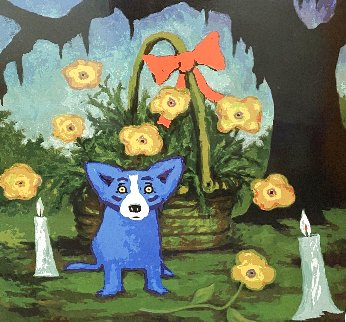 A Louisiana Sunday Morning 2012  Limited Edition Print - Blue Dog George Rodrigue