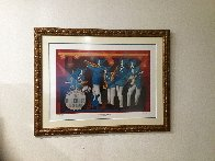 Can't Drown the Blues HS Limited Edition Print by Blue Dog George Rodrigue - 1