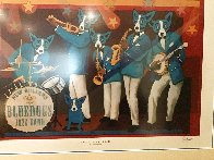 Can't Drown the Blues HS Limited Edition Print by Blue Dog George Rodrigue - 2