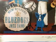 Can't Drown the Blues HS Limited Edition Print by Blue Dog George Rodrigue - 3