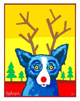 Truly Rudy 2000 Limited Edition Print - Blue Dog George Rodrigue