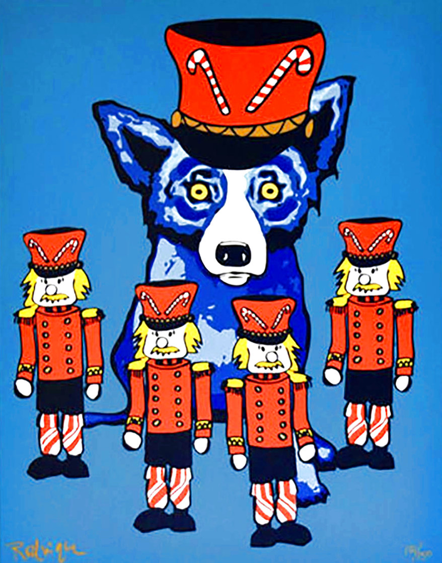 Blue Dog Soldier Boy 2000 Limited Edition Print by Blue Dog George Rodrigue