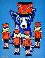 Blue Dog Soldier Boy 2000 Limited Edition Print by Blue Dog George Rodrigue - 0