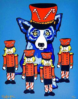 Blue Dog Soldier Boy 2000 Limited Edition Print - Blue Dog George Rodrigue