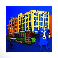 Louisiana Blue Dog 2003  (New Orleans) Limited Edition Print by Blue Dog George Rodrigue - 1