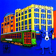 Louisiana Blue Dog 2003  (New Orleans) Limited Edition Print by Blue Dog George Rodrigue - 0