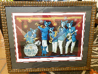 You Can't Drown the Blues Poster 2006 HS Limited Edition Print by Blue Dog George Rodrigue - 1