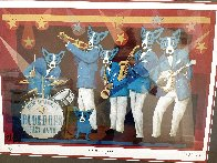 You Can't Drown the Blues Poster 2006 HS Limited Edition Print by Blue Dog George Rodrigue - 2