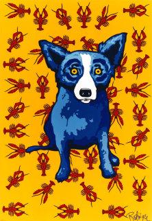 Cajun Feast 2000 Limited Edition Print - Blue Dog George Rodrigue