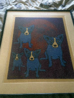 Red Moon 1991 Limited Edition Print by Blue Dog George Rodrigue - 1