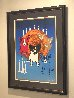 By the Light of the Moon - Split Front 1992 Limited Edition Print by Blue Dog George Rodrigue - 1
