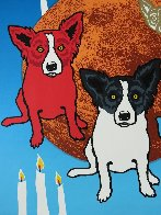 By the Light of the Moon - Split Front 1992 Limited Edition Print by Blue Dog George Rodrigue - 6