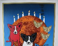 By the Light of the Moon - Split Front 1992 Limited Edition Print by Blue Dog George Rodrigue - 7