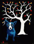 Sweet Pickin's  AP 2000  Limited Edition Print - Blue Dog George Rodrigue