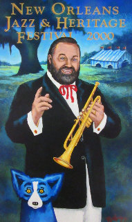 New Orleans Jazz And Heritage Festival 2000 HS Other by Blue Dog George Rodrigue