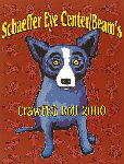 Schaeffer Eye Center/Beams Crawfish Boil 2000 HS Limited Edition Print - Blue Dog George Rodrigue