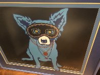 Waiting For Rex AP 1993 Limited Edition Print by Blue Dog George Rodrigue - 2