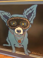 Waiting For Rex AP 1993 Limited Edition Print by Blue Dog George Rodrigue - 6