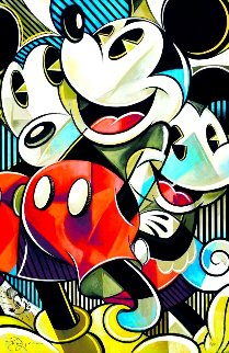 Mouse Full of Joy 2019 Limited Edition Print by Tim Rogerson