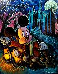 Caretaker Mickey 35x29 Original Painting - Tim Rogerson