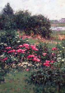 Nantucket 36x30 Original Painting - Peter Rolfe