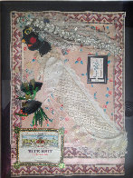 Untitled Bride Collage 1980 20x13 Works on Paper (not prints) by Rodolfo  Morales - 1