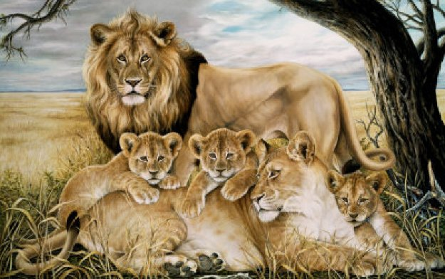 Majesty  AP 1993 Limited Edition Print by Ron Rophar
