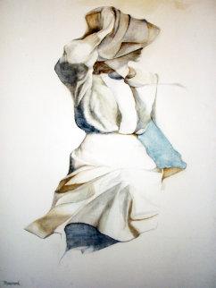 Windblown 1977 40x30 Original Painting by Christine Rosamond
