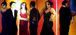 Opera Odyssey 2003 72x36 Original Painting - Sarena Rosenfeld
