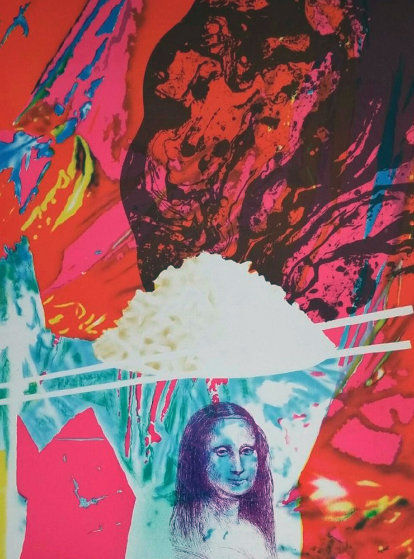 Magic Bowl 1992 Limited Edition Print by James Rosenquist
