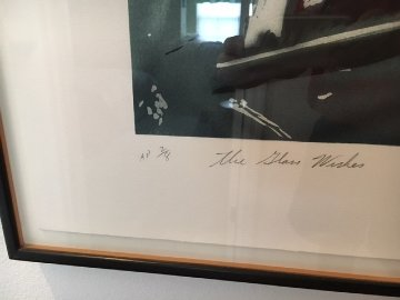 Glass Wishes AP 1978 Limited Edition Print - James Rosenquist