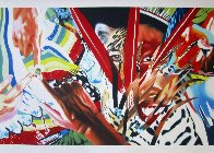 Brazil 2013 Huge  Limited Edition Print by James Rosenquist - 2