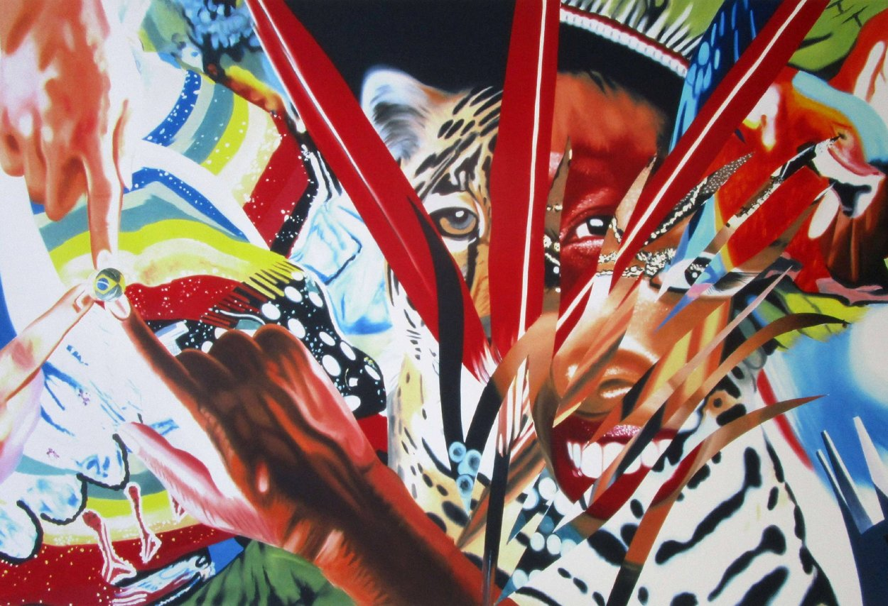 Brazil 2013 Huge  Limited Edition Print by James Rosenquist