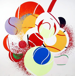 Balls 1990 Limited Edition Print - James Rosenquist