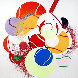 Balls 1990 Limited Edition Print by James Rosenquist - 0