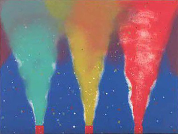 Night Smoke  1970 Limited Edition Print by James Rosenquist
