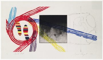 Gravity Feed 1978 Limited Edition Print by James Rosenquist