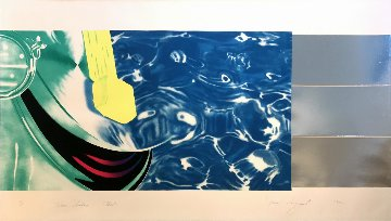 Horse Blinders (West) 1972 Limited Edition Print by James Rosenquist