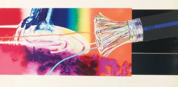 Horse Blinders (East) 1972 Limited Edition Print by James Rosenquist
