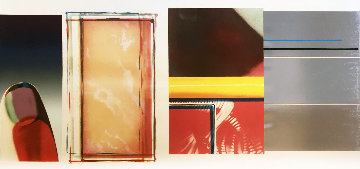 Horse Blinders (South) Limited Edition Print by James Rosenquist